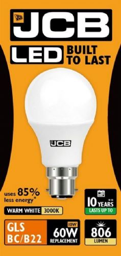 LED GLS Lightbulb 9W BC (household shape) Warm White (806 lumens) 807966
